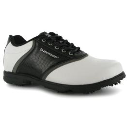 Dunlop Herren Leder Golfschuhe , weiß - 1