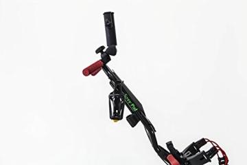 EasyPal 4-Rad Golf Trolley mit Robotik Funktion in Weiß und EU-Netzteil - 8
