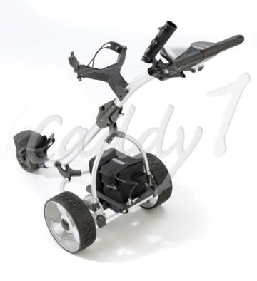 Elektro Golf Trolley CADDYONE 300 in Silber, 300W, 33Ah-Akku - 2