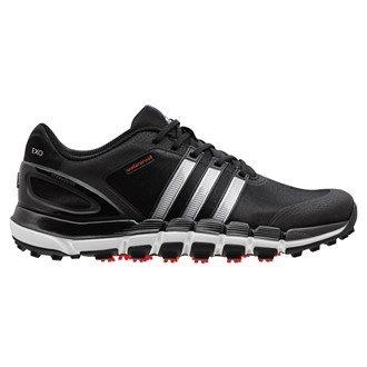 2014 Adidas Pure 360 Gripmore Sport Waterproof Golf ShoesBlack/Silver 7UK - 1