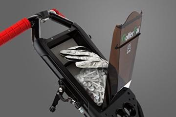 EasyPal 4-Rad Golf Trolley mit Robotik Funktion in Weiß und EU-Netzteil - 2