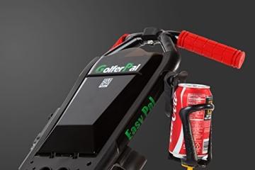 EasyPal 4-Rad Golf Trolley mit Robotik Funktion in Weiß und EU-Netzteil - 3