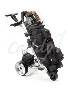 Elektro Golf Trolley CADDYONE 300 in Silber, 300W, 33Ah-Akku - 1
