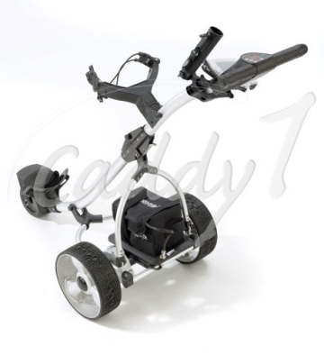Elektro Golf Trolley CADDYONE 300 in Silber, 300W, 33Ah-Akku - 2