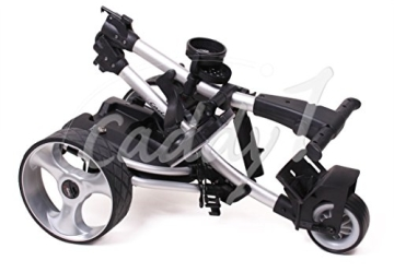 Elektro Golf Trolley CADDYONE 300 in Silber, 300W, 33Ah-Akku - 3