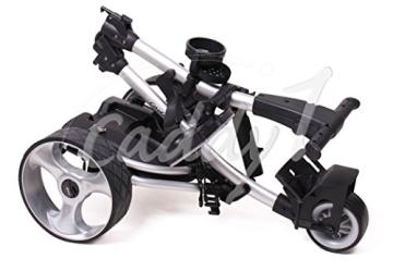 Elektro Golf Trolley CADDYONE 300 mit Lithium-Akku in Silber, 300W, 20Ah-Akku - 4